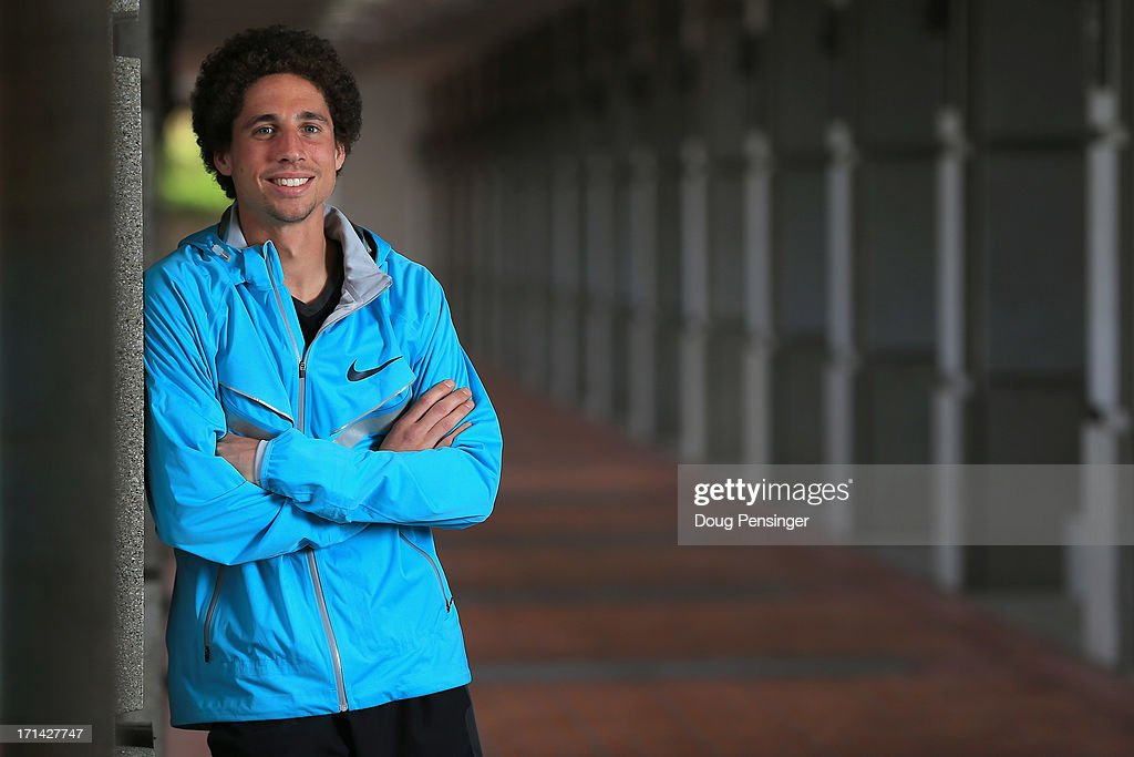 Cam Levins of Canada, a member of the Oregon Project, poses for a portrait on the Nike campus on April 13, 2013 in Beaverton, Oregon.