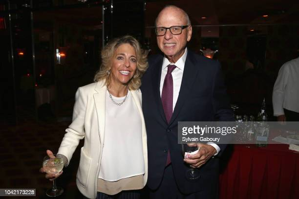 Cam Liebman and Howard Lorber attend David Patrick Columbia And Chris Meigher Toast The QUEST 400 At DOUBLES on September 27 2018 in New York City