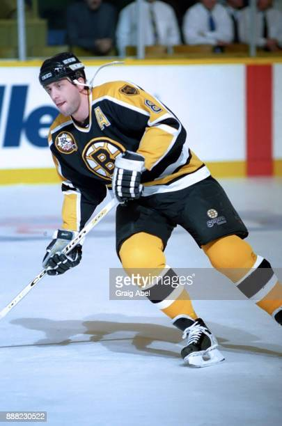 Cam Neely of the Boston Bruins skates against the Toronto Maple Leafs during NHL game action on January 3 1996 at Maple Leaf Gardens in Toronto...