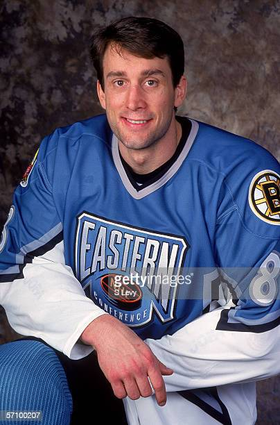 Cam Neely of the Eastern Conference and the Boston Bruins poses for a portrait before the 1996 46th NHL All-Star Game against the Western Conference...