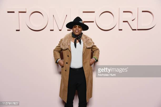 Cam Newton attends the Tom Ford FW 2019 - Arrivals - New York Fashion Week: The Shows on February 06, 2019 in New York City.