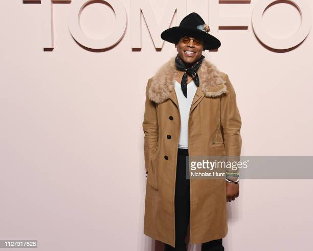 Cam Newton attends the Tom Ford FW 2019 Arrivals New York Fashion Week The Shows on February 06 2019 in New York City