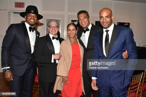 Cam Newton Frank D'Amelio Nicole Ari Parker John Utendahl and Boris Kodjoe attend Opera and Couture Radmila Lolly at Carnegie Hall on April 20 2018...