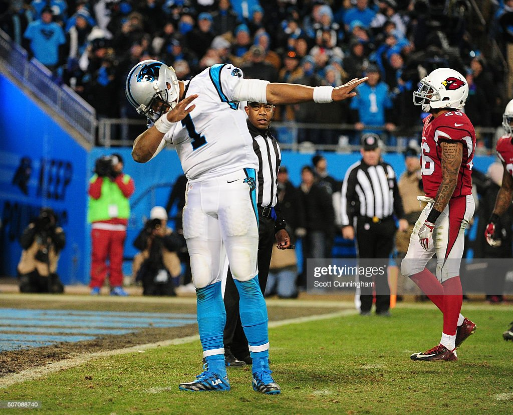 NFC Championship - Arizona Cardinals v Carolina Panthers : Fotografía de noticias