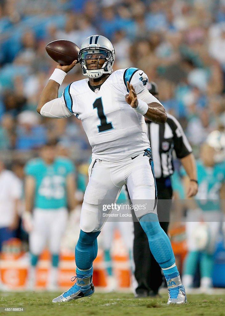 Miami Dolphins v Carolina Panthers : News Photo