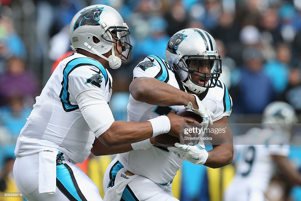 Divisional Round - Seattle Seahawks v Carolina Panthers : News Photo