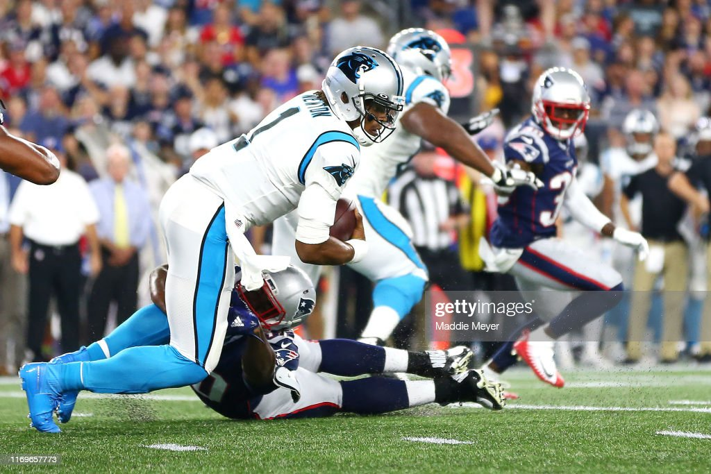 Carolina Panthers v New England Patriots : News Photo