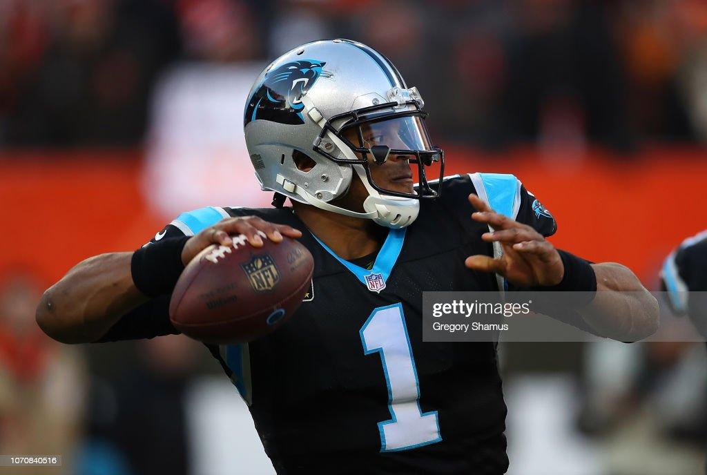 Carolina Panthers v Cleveland Browns : News Photo