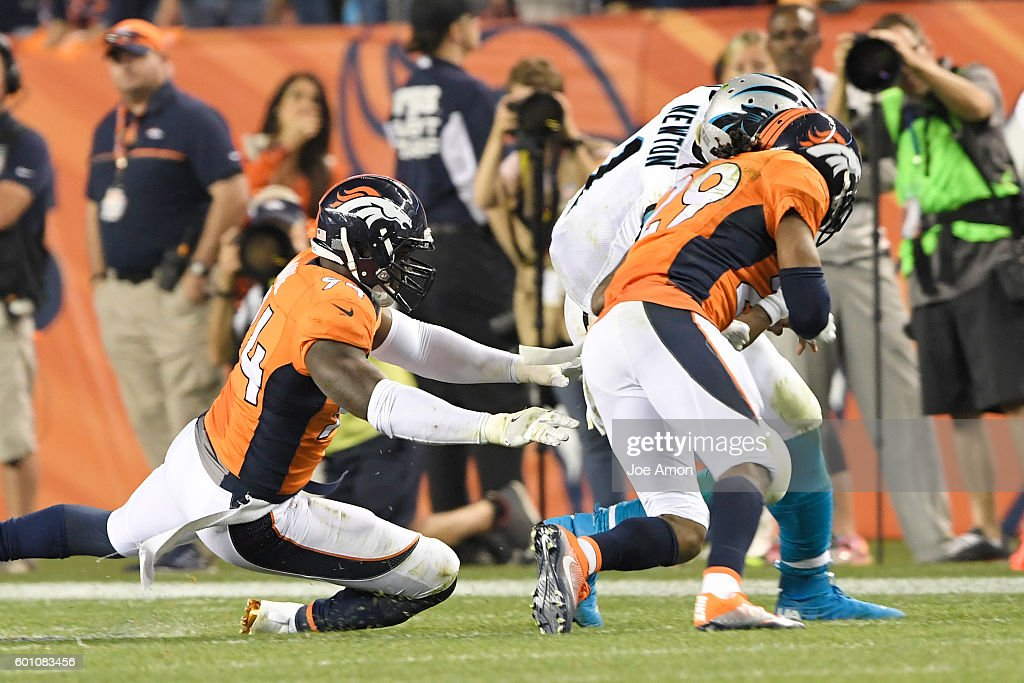 Denver Broncos vs. Carolina Panthers, NFL Week 1 : News Photo