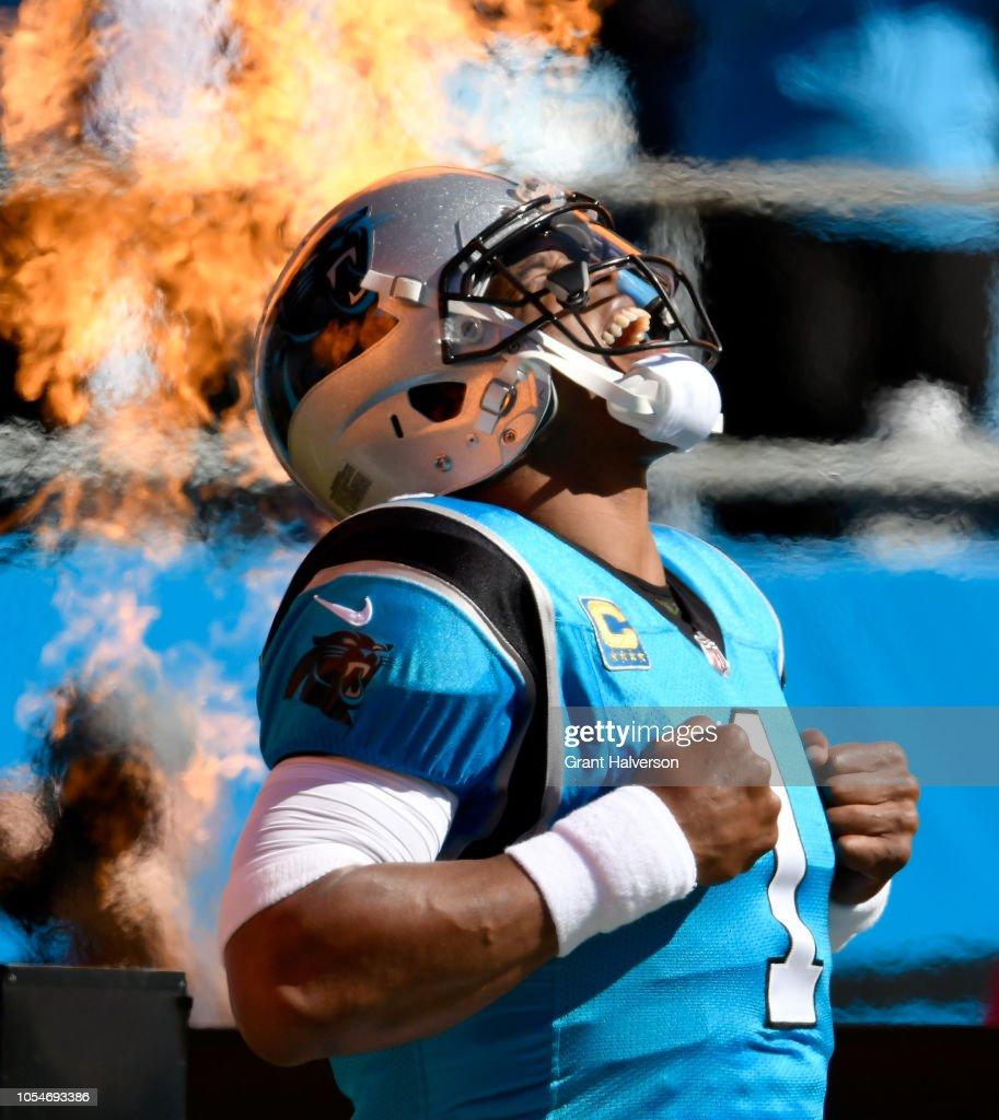 Baltimore Ravens v Carolina Panthers : Fotografia de notícias