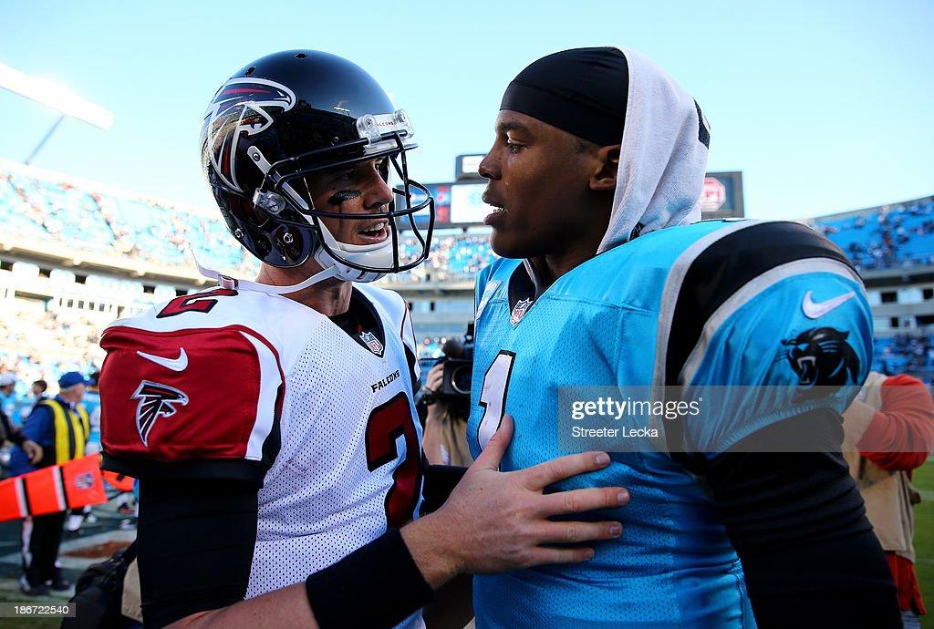 Atlanta Falcons v Carolina Panthers : News Photo