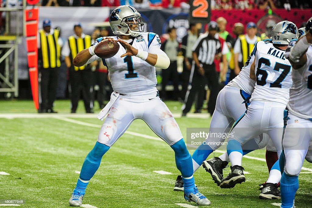 Carolina Panthers v Atlanta Falcons : Photo d'actualité