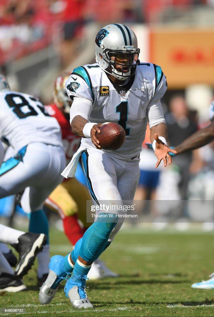 Carolina Panthers vSan Francisco 49er : News Photo