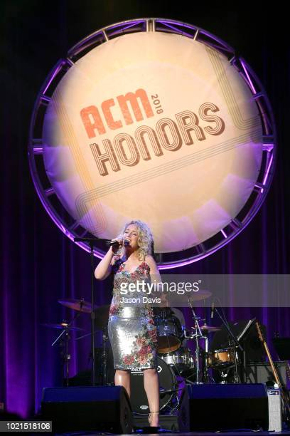 Cam performs onstage during the 12th Annual ACM Honors at Ryman Auditorium on August 22 2018 in Nashville Tennessee
