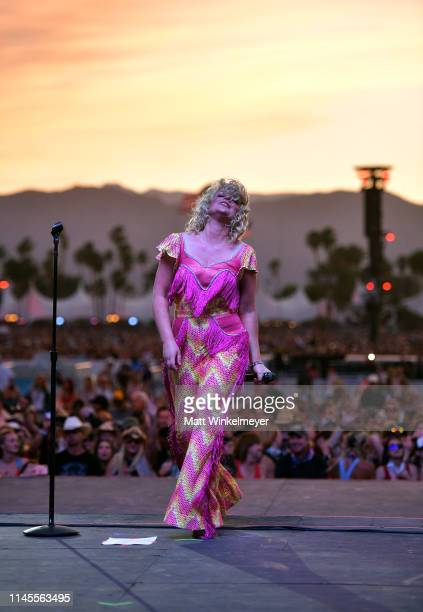Cam performs onstage during the 2019 Stagecoach Festival at Empire Polo Field on April 27 2019 in Indio California