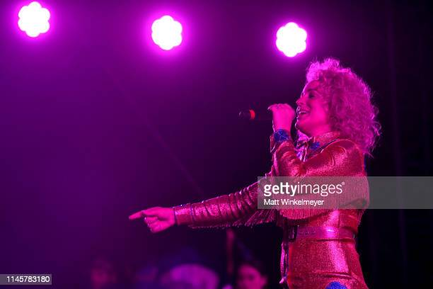 Cam performs onstage during the 2019 Stagecoach Festival at Empire Polo Field on April 28 2019 in Indio California