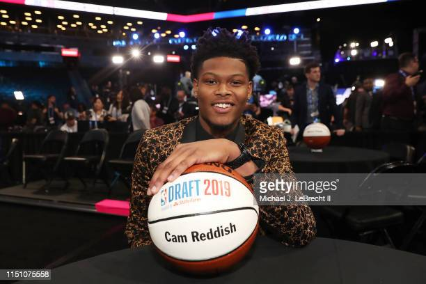 Cam Reddish poses for a photo before the 2019 NBA Draft on June 20 2019 at the Barclays Center in Brooklyn New York NOTE TO USER User expressly...