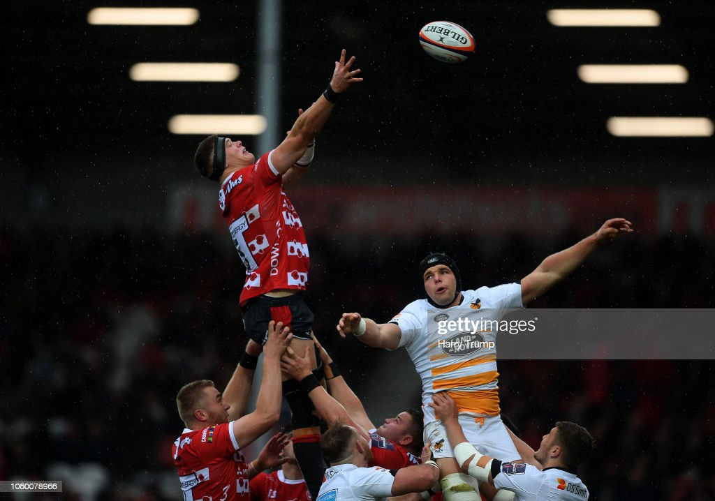 Gloucester Rugby v Wasps - Premiership Rugby Cup : News Photo