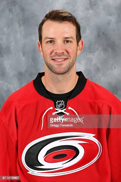 Cam Ward of the Carolina Hurricanes poses for his official headshot for the 20162017 season on September 22 2016 at Carolina Family Practice and...