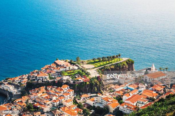 camara de lobos madeira - lareira stock pictures, royalty-free photos & images