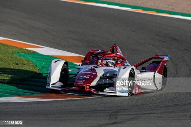 Camara Sergio , Dragon / Penske Autosport, Penske EV-5, action during the ABB Formula E Championship official pre-season test at Circuit Ricardo...