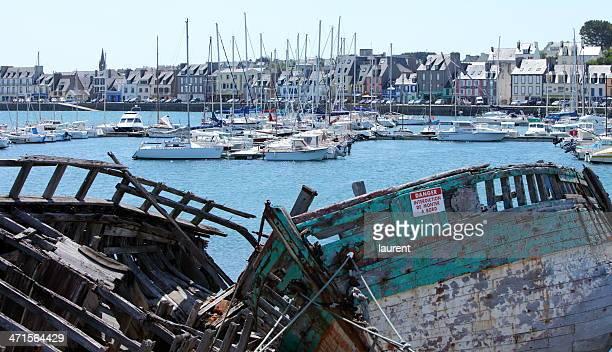 camaret-sur-mer de bretagne, france - camaret sur mer photos et images de collection