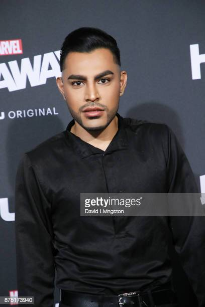 Camarillo arrives at the premiere of Hulu's Marvel's Runaways at the Regency Bruin Theatre on November 16 2017 in Los Angeles California