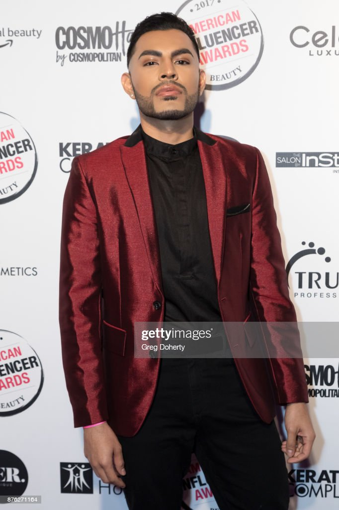 JC Camarillo attends the American Influencer Award at The Novo by Microsoft on November 18, 2017 in Los Angeles, California.