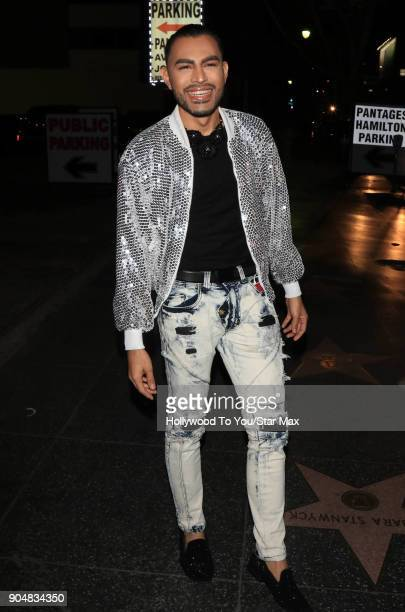 Camarillo is seen on January 13 2018 in Los Angeles CA