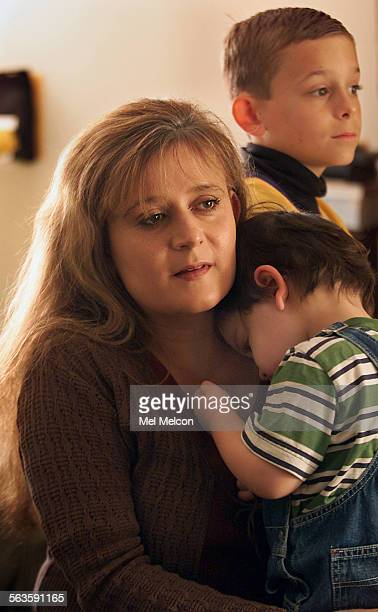 Camarillo resident Sherry Heuel with sons Mitchell foreground and Matthew became hooked on powerful narcotics prescribed by her physician Dr Michael...