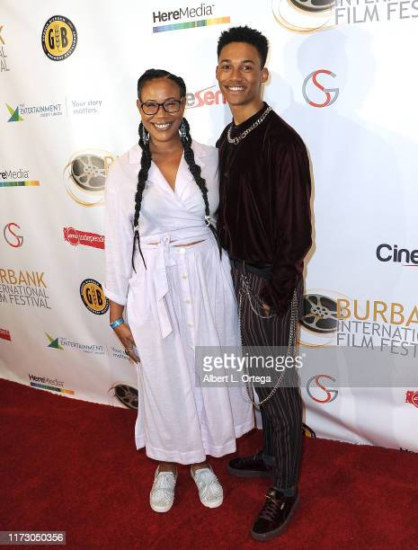Camaron Engels and mom attend the Premiere Of Relish At The Burbank International Film Festival held at AMC Burbank 16 on September 6 2019 in Burbank...