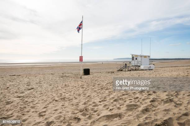 Camber Sands, as Sussex, UK