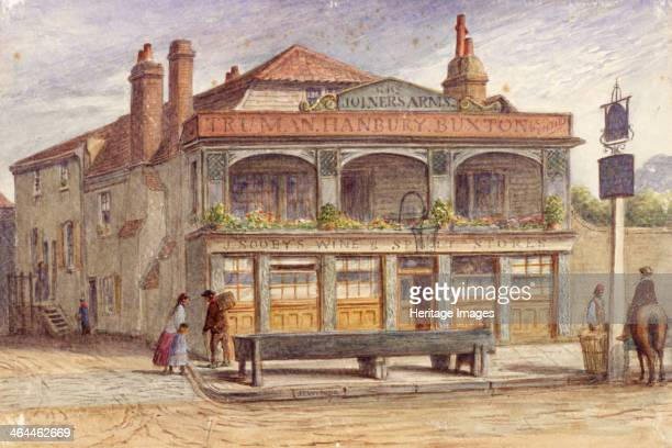 Camberwell London 1850 view of the Joiners' Arms Inn