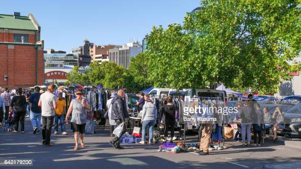 camberwell sunday market - camberwell stock photos and pictures