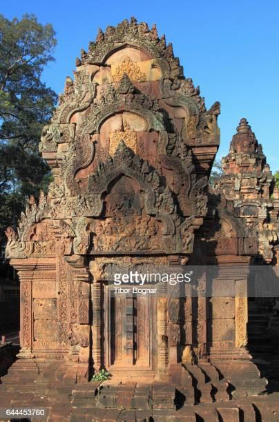 Cambodia, Angkor, Banteay Srei, hindu temple,