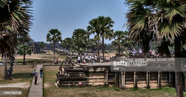 Cambodia. Angkor Wat – built by Suryavarman II – is the earthly representation of Mt Meru. The Mt Olympus of the Hindu faith and the abode of ancient...