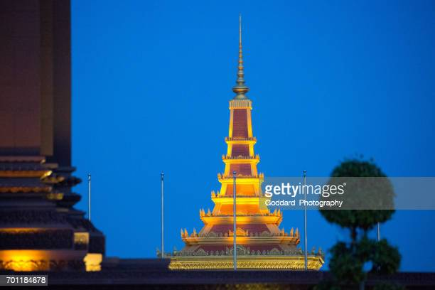 cambodia: phnom penh - norodom sihanouk stock pictures, royalty-free photos & images