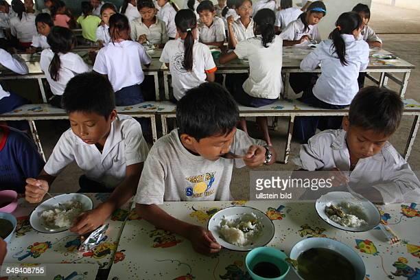 KHM Cambodia Sihanoukville Pupils in the Don Bosco Technical School
