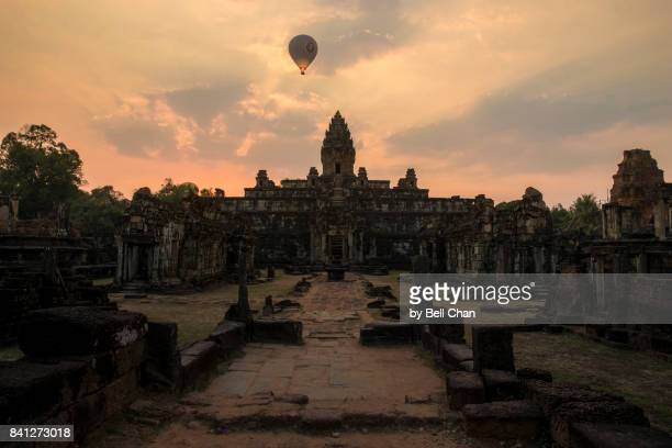 Cambodia Temple Sunset