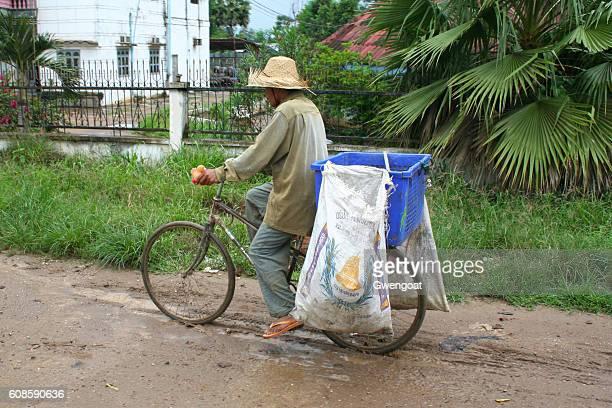 Cambodian Cyclist