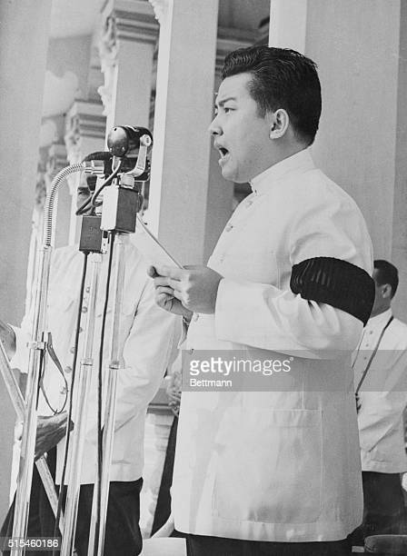 Cambodian King Returns from Exile. Still a Holdout. Phmon Penh, Cambodia: King Narodom Sihanouk of Cambodia, who took a 31-man party into voluntary...