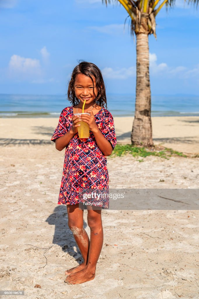 Little Cambodian Girl High Resolution Stock Photography
