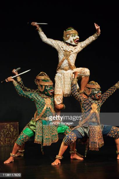 cambodian living arts performance , phnom penh. - phnom penh stock pictures, royalty-free photos & images