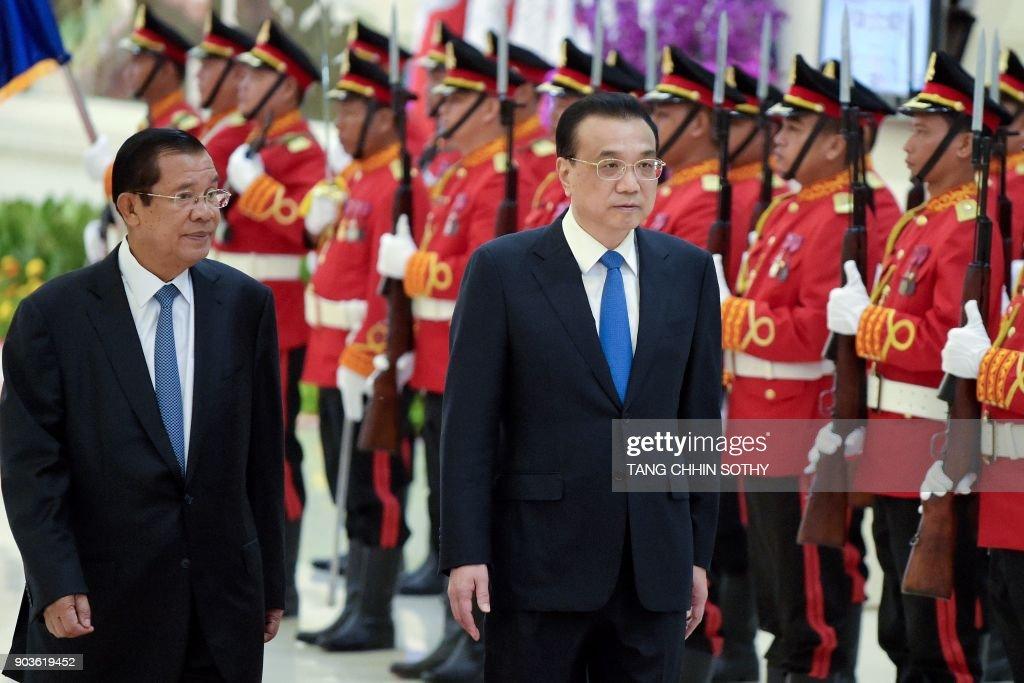 CAMBODIA-CHINA-DIPLOMACY : News Photo
