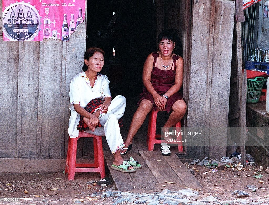 Teen girls in Cambodia