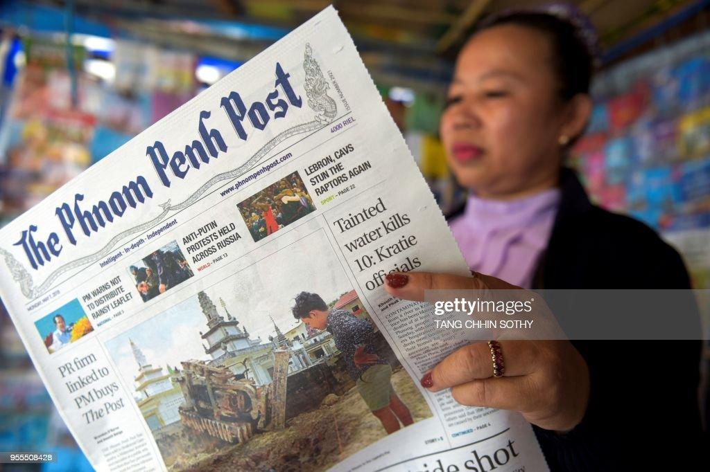 CAMBODIA-MEDIA : News Photo