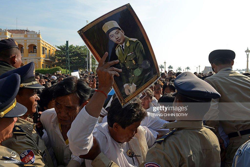 CAMBODIA-ROYALS-FUNERAL : News Photo