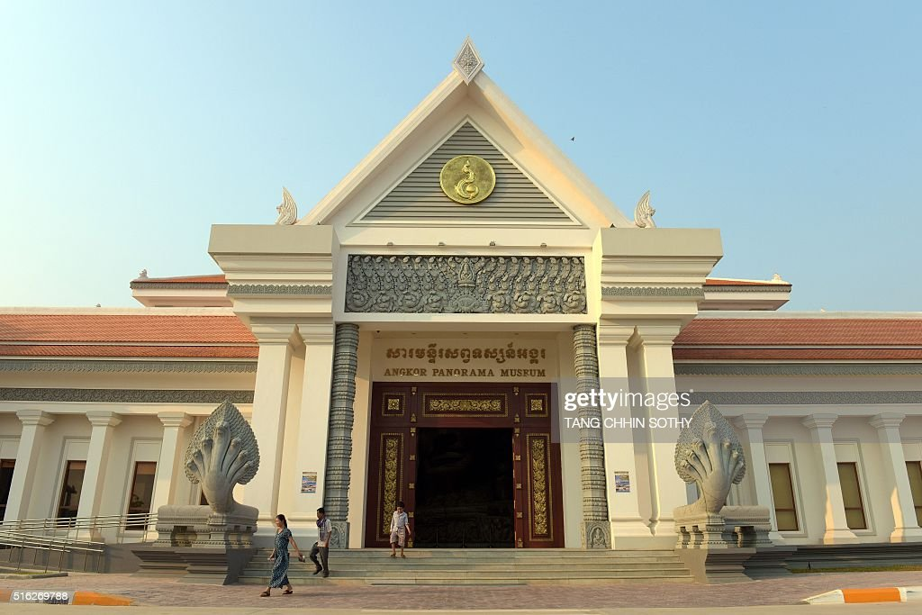 CAMBODIA-NKOREA-ART-LIFESTYLE-DIPLOMACY-MUSEUM : News Photo