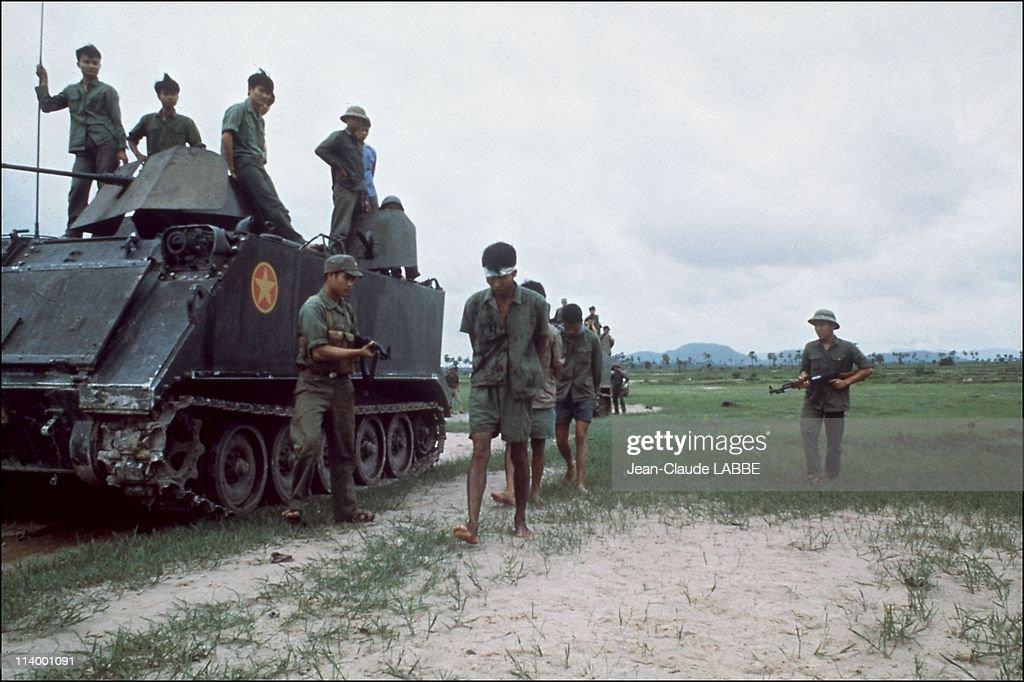 Cambodia-Vietnam war in Cambodia in August, 1978- : Fotografía de noticias