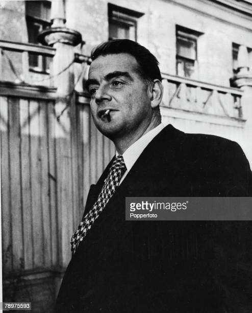 Cambridge educated Russian Spy Guy Burgess associated with a group of Cambridge Univerty spies including Donald MacLean Kim Philby John Cairncross...